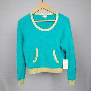 💥NWT Women's Juicy Couture Fuzzy Sweater XS